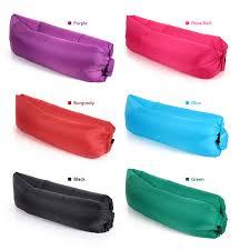 canap gonflable ext rieur secondes jeûnent sac de couchage gonflable de laybag canapé