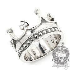 mens crown rings images Rings gothic rings men 39 s silver ring cz royal crown jpg
