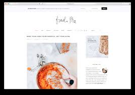 20 best food blog wordpress themes 2017