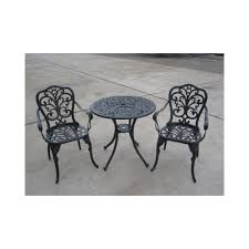 Aluminium Bistro Table And Chairs Brundle Gardener Aluminium Bistro Set Garden Furniture From