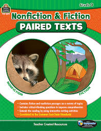 nonfiction and fiction paired texts grade 3 tcr3893 teacher