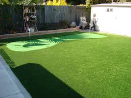 Small Backyard Putting Green Photos Artificial Grass Artificial Turf Synthetic Grass