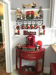 coffee kitchen decor ideas kitchen bistro coffee themed kitchen decor delightful ideas 30