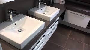 meuble sous vasque sur mesure salle de bain sur mesure sous toiture atlantic bain youtube