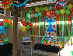 Party Decorating Ideas Best 25 Monster Birthday Parties Ideas On Pinterest Monster