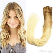 16 inch hair extensions 100gram in hair extension 16inch to 24inch ombre human hair