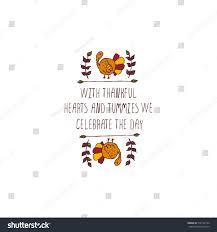 handdrawn thanksgiving label turkey on white stock vector