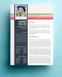 artsy resume templates creative resume template word doc cool