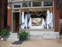 Window Decorations For Christmas by Window Ideas Pinterest Christmas Window Decorating Ideas Store