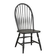 amazon com carolina classic cottage windsor chair antique black