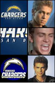 Chargers Raiders Meme - 25 best memes about los angeles chargers los angeles