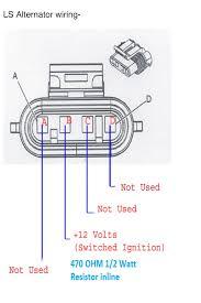 4 wire alternator wiring diagram 4 wire fan diagram wiring diagram