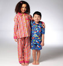 kwik sew 3945 children s pajamas