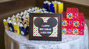 mickey mouse birthday party mickey mouse birthday party theme