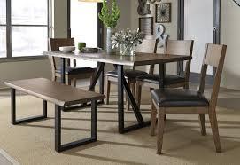 standard furniture sierra 4 piece dining set u0026 reviews wayfair
