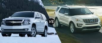 ford explorer vs chevy tahoe 2015 chevy tahoe vs 2015 ford explorer drive wheaton