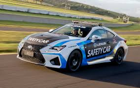 lexus sedan with v8 lexus enters 2015 v8 supercars events with official rc f safety car