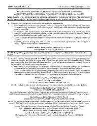 Resume Examples For Physical Therapist by Examples Of Medical Resumes Entry Level Medical Assistant Resume