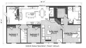 Floor Plans For Trailer Homes 71 779 Redman Fenton