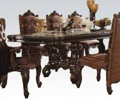 Pedestal Dining Table Acme Versailles Pedestal Dining Table In Cherry Oak 61100 Special