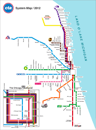 Chicago Redline Map by Chicago Transit Authority Map My Blog