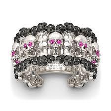 skull wedding ring sets skull wedding rings wedding rings