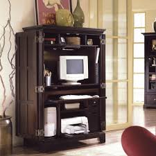 Sauder Computer Desk Armoire by Harvest Mill Computer Armoire 404958 Sauder Intended For Small
