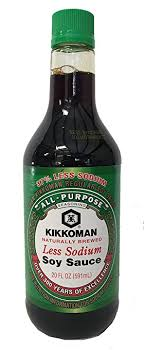 sodium in light beer amazon com kikkoman light soy sauce less sodium 20 ounce