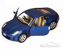nissan fairlady 350z blue kinsmart 5061d 1 34 scale diecast