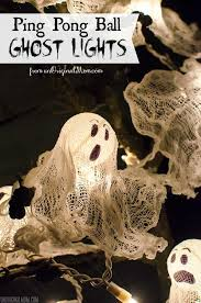 Halloween Decorations Spooky Trees by Ping Pong Ball Ghost Lights Halloween Trees Spooky Halloween