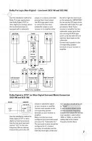 home theater subwoofer connection dolby digital or dts jbl dsc 1000 user manual page 7 10