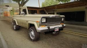 jeep modified classic 4x4 jeep for gta san andreas