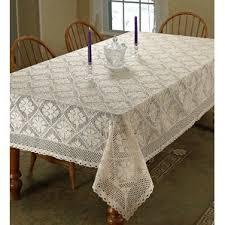 Crochet Table Cloth 140 Inch Tablecloth Wayfair