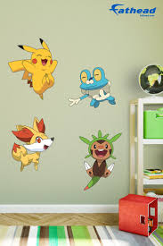 best 25 pokemon wall stickers ideas on pinterest pokemon wall kalos first partner collection