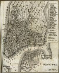 Manhattan New York Map by Historic Maps Of Nyc