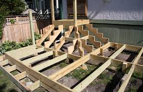 Corner Deck Stairs Design Corner Deck Stairs Stained Cedar Deck With Painted Trim Deck