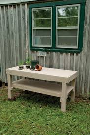 Free Potting Bench Plans Pdf 16 Potting Bench Plans To Make Gardening Work Easy The Self