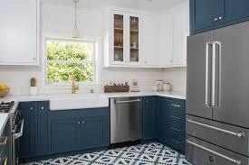 blue kitchen cabinets brown granite blue kitchen cabinets with brown granite countertops