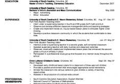 Kindergarten Teacher Resume Examples by 165 Cv For Teachers Httpwwwteachers Resumescomau Sample New