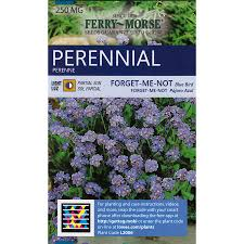 forget me not seed packets shop ferry morse forget me not blue bird flower seed packet at