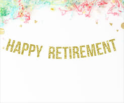 party banner 7 retirement party banners designs templates free premium