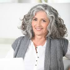 women in forties and grey hair 3 ways to wear gray hair over 40