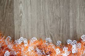 halloween textures halloween themed wood background decorated with spooky and cute