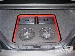 mustang shaker sound system s197 mustang audio system custom 08 gt500 stereo upgrade 5 0