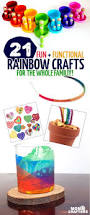rainbow crafts for kids and grown ups to make moms u0026 crafters