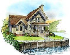 storybook cottage house plans stock plan from hendricks
