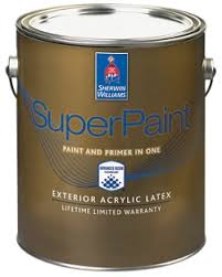 superpaint exterior acrylic latex paint sherwin williams