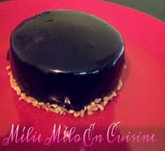 glacer cuisine entremet praliné glaçage miroir au chocolat avec ou sans