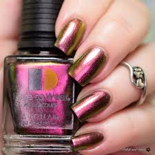 le chat metallux multichrome collection polish and paws