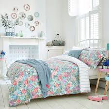 bright bedding mainstays kids u0027 bed in a bag navy floral